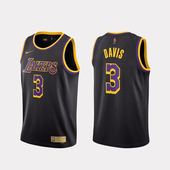 Shirts | Lakers Anthony Davis 221 Black Jersey | Poshmark